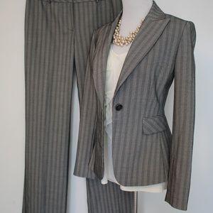 ANTONIO MELANI Size 2 / 4 Gray Suit Pants Blazer